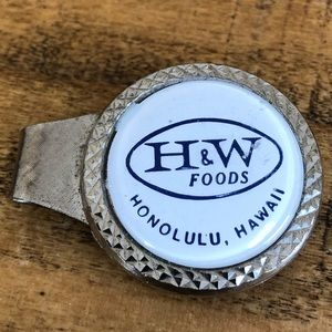 Other - Vintage H&W Foods Hawaii money clip